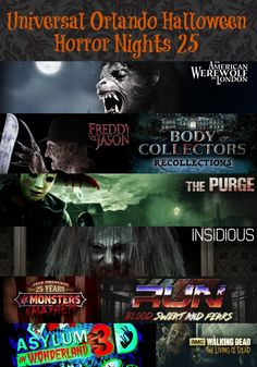 Titans of Terror - Halloween Horror Nights 2017 (Universal Studios ...