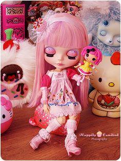 *Blythe*Lalaloopsy*Hello Kitty*Pink!