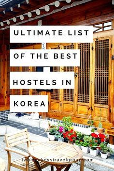 Ultimate List of The Best Hostels in Korea  In this article, you will find the following – Best hostels in Seoul; Best hostels in Jeju Island; Best hostels in Gyeong-ju; Best hostels in Sokcho; Best hostels in Daegu; Best hostels in Jeonju; Best hostels in Gwangju; and Best hostels in Incheon.    Providing you the ultimate list of the BEST HOSTELS IN KOREA – includes rates, locations and great reviews that will definitely help you with your stay in the amazing cities of South Korea!
