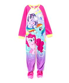 Love this Pink My Little Pony Footie - Girls by My Little Pony on #zulily! #zulilyfinds