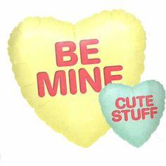 Folieballon Be Mine- Cute Stuff
