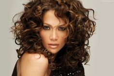 jlo curly hair - Google Search