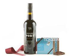 Port and TCHO Chocolates Gift Set - Wine Collection Gift Wine Collection Gift by Wine.com. Chocolate and port pair perfectly together. We've taken an outstanding port from Terra d'Oro and paired it with TCHO Chocolate, an artisanal chocolate maker based in San Francisco, California....