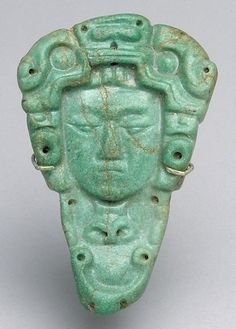 -- Jade Head Pendant -- Centuries -- Mexico, Maya -- The Metropolitan Museum of Art Mayan History, Ancient History, Art History, Maya Civilization, Mesoamerican, Ancient Artifacts, Ancient Civilizations, Metropolitan Museum, American Art