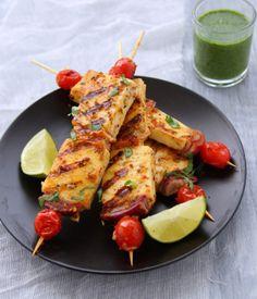 Achari Paneer Tikka – Skewered Indian Cheese With Pickling Spices