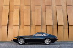 With a top speed of 280 km/h (175 mph), a 0-60 mph of 5.4 seconds and a fuel tank capacity of 128 litres – there wasn't much if anything on the road that could've outrun a talented driver in a 365 GTB/4 in the early 1970s.