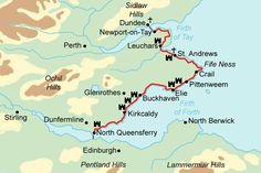 fife scotland   Fife Coastal Path - walking holidays and hiking tours in Scotland