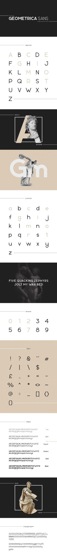 Geometrica Sans Free Typeface