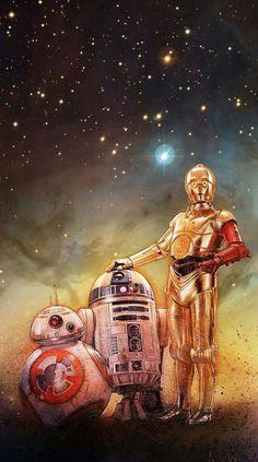 samsung wallpaper stars Imagem de star wars, and Star Wars Fan Art, Bb8 Star Wars, Star Wars Meme, Star Wars Quotes, Star Wars Party, Star Wars Painting, Star Wars Images, Star Wars Tattoo, Star Wars Gifts