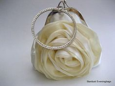 Bride's handbag/purse #weddingbag
