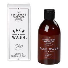 Gentlemen's Hardware Face Wash design by Wild & Wolf