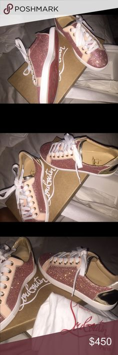 Christiana Louboutin Need gone asap. No low ball offers need gone asap Shoes Sneakers