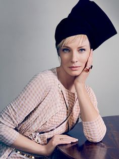 Cate Blanchett by Emma Summerton for Vogue Australia, April 2015