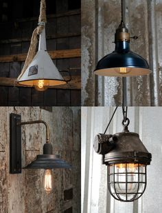 Have a look at our Vintage and Reclaimed Collection - http://www.chantellelighting.co.uk/prods/Vintage-and-Reclaimed-Collection