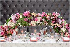 Casa Loma - The Wedding Opera Ontario, Toronto, Bloom, Table Decorations, Creative, Pink, Photography, Wedding, Beautiful
