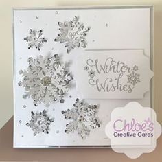 Chloe Endean (@stampsbychloe) • Instagram photos and videos Chloes Creative Cards, Creative Christmas Cards, Christmas Cards To Make, Christmas Stickers, Handmade Christmas, Stamps By Chloe, Christmas Topper, Xmas Crafts, Sympathy Cards