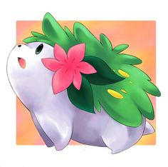 Shaymin from Pokemon by SakikoAmana.deviantart.com on @deviantART
