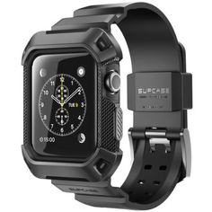 Design for Apple Watch or Series Watch or Band is NOT included). Full protection for all corners and holds apple watch tightly. After cover with the case, you still can operate your Apple Watch by touch screen. Apple Watch 42mm, Apple Watch Series 3, Best Apple Watch, Apple Watch Bands Mens, Apple Watch For Men, Sport Watches, Cool Watches, Watches For Men, Gps Watches