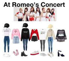 """""""☆At Romeo's Concert☆"""" by girl-gang-official ❤ liked on Polyvore featuring Ksubi, Monse, Gucci, H&M, Illustrated People, Boohoo, Puma, Billabong, Sam Edelman and Yves Saint Laurent"""