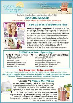 June 2017 Specials