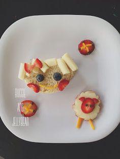 Italian Parmesan corn cakes - taste good for adults, kid friendly!