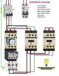 Esquemas eléctricos: estrella triangulo de potencia esquema