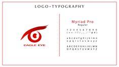 Concept Portfolio Eagle Eye Logo Typographic Logo, Typography, Eye Logo, Eagle Eye, Logo Design, Graphic Design, Logo Color, Company Logo, Concept