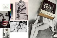 Linder Sterling [Cutting Edges Contemporary Collage spread]