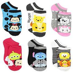 Disneys Tsum Tsum Minnie /& Mickey Mouse Girls 3-PK Gloves