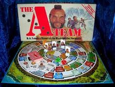 The A-Team board game A Team Van, Vintage Board Games, Living Dolls, Old Tv Shows, The A Team, Classic Tv, Old Movies, The Magicians, Favorite Tv Shows