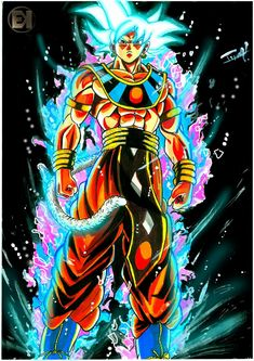 Dragon Ball Gt, Anime Naruto, Anime Negra, Son Goku, Cool Art, Drawings, Artwork, Dbz Vegeta, Gym Workouts