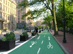 Boston selected for national project to create cycletracks