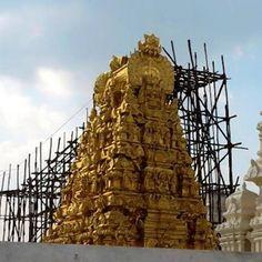 Shankara!: Kamakshi Amman temple getting ready for Kumbabhish...