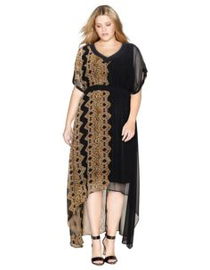 Dipped hem maxi dress by Mat. Shop now: http://www.navabi-australia.com/dresses-mat-dipped-hem-maxi-dress-black-light-brown-34930-2417.html?utm_source=pinterest&utm_medium=social-media&utm_campaign=pin-it