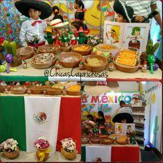 Expo países das olimpíadas Rio 2016 Colégio Batista Moriah. Chicas Caprichosas decorou os estandes das turminhas do 1° ao 4°ano. Ficaram muito graciosos, cada um com suas particularidades. #mexico #festamexicana