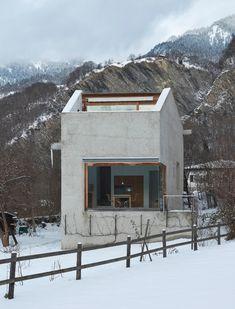 Auszeichnung: Wohnhaus in Trimmis von Michael Hemmi, Haldenstein, 2005/06. (Bild: Benedikt Redmann, Zürich)