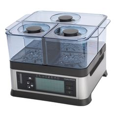 Another kitchen gadget, the Morphy Richards Steamer with separately controlled compartments. Kitchen Gadgets, Kitchen Appliances, Steamer, Cooker, Cooking Appliances, Cooking Tools, Kitchen Tools, Kitchenware, Kitchen Supplies