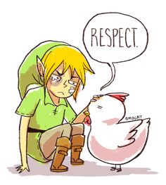 Hahaha...did you ever play Zelda on SNES and attack a chicken until it called for reinforcements? Oh, good times!