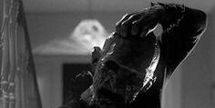 scary gif Black and White creepy horror dark morbid darkness Macabre spooky eerie freddy krueger horror movie horror film horrible horror gif a nightmare on elm street terrifying dark blog horror blog discusting