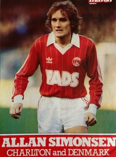 Allan Simonsen Charlton Athletic Football Club, Charlton Athletic Fc, Retro Football, European Football, Soccer Players, Great Britain, Sports, Photos, Fictional Characters