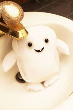 My fat is just walking away! Adipose Alien Plush! craftster.org