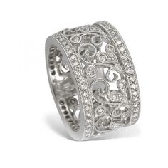 Lauren | Vintage inspired, Beautiful and White gold