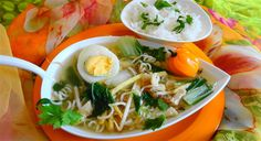 Surinaams eten – Saoto met Paksoi, Woknodel en Rijst