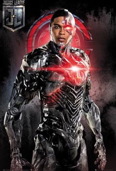 Buy Justice League Maxi Poster - Cyborg online and save! Justice League Maxi Poster – Cyborg Maxi Poster 61 × Our posters are rolled, wrapped and shipped in poster mailing tubes Cyborg Dc Comics, Dc Comics Art, Marvel Dc Comics, Comics Girls, Marvel Fan, Teen Titans, Justice League, Ray Fisher, Dc Comics Characters