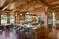 Blue Ridge Timberwrights kitchen