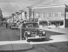 Main & Chester Front Royal, Virginia 1953 Old Pictures, Old Photos, Front Royal, Warren County, Shenandoah Valley, Inspiration Wall, Great Memories, Photo Postcards, Main Street