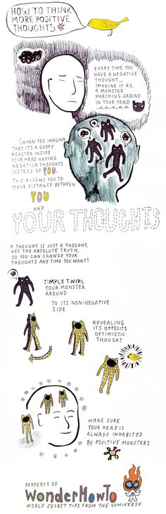 How To Change Negative Thoughts Into Positive Ones