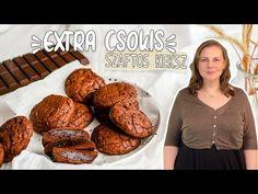 Csokis brownie keksz recept - YouTube