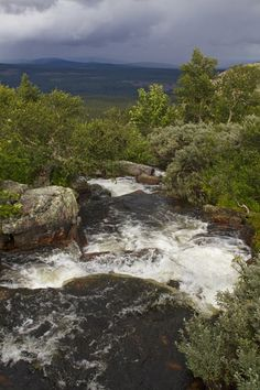Fulufjället National Park in Dalarna County, Sweden