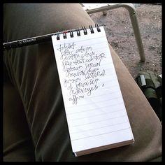 #writing #lomo #visual #journal #todolist